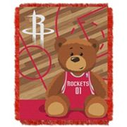 Houston Rockets Baby Jacquard Throw
