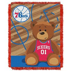 Philadelphia 76ers Baby Jacquard Throw
