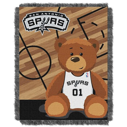San Antonio Spurs Baby Jacquard Throw
