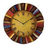 Harland Multicolor Wall Clock