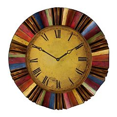 Harland Multicolor Wall Clock