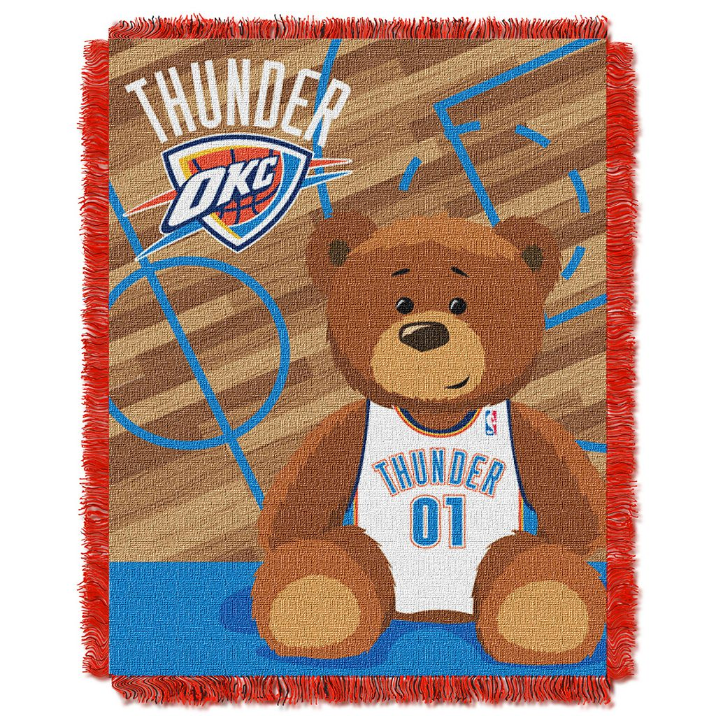 Oklahoma City Thunder Baby Jacquard Throw