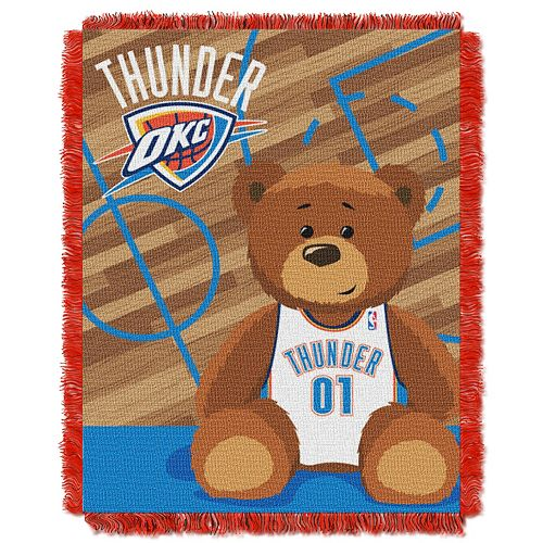 Oklahoma City Thunder Baby Jacquard Throw