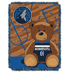 Minnesota Timberwolves Baby Jacquard Throw