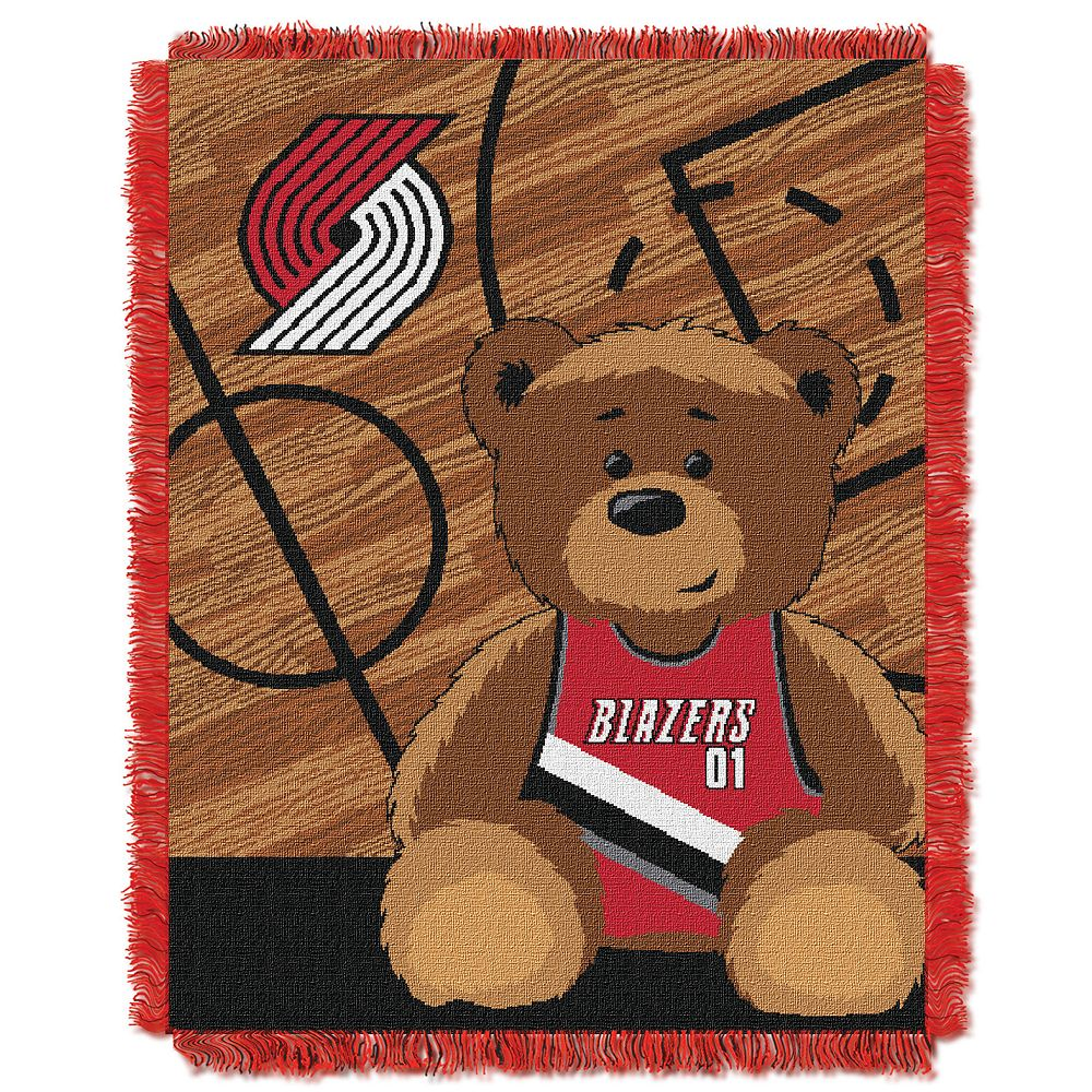 Portland Trail Blazers Baby Jacquard Throw