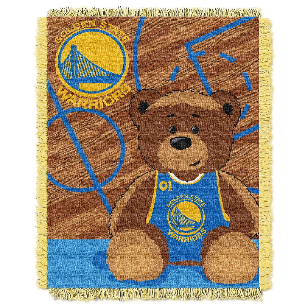 Golden State Warriors Baby Jacquard Throw