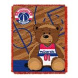 Washington Wizards Baby Jacquard Throw