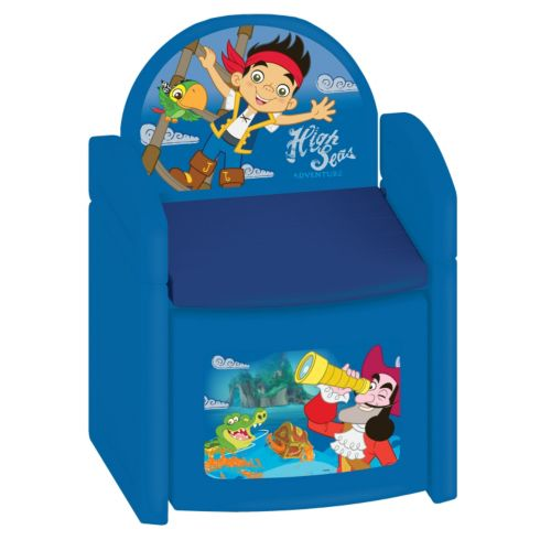 Disney Jake and the Never Land Pirates Sit 'N' Store Chair by Kids Only