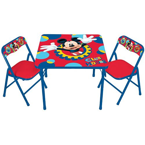 Disney Mickey Mouse & Friends Erasable Activity Table & Chair Set by ...