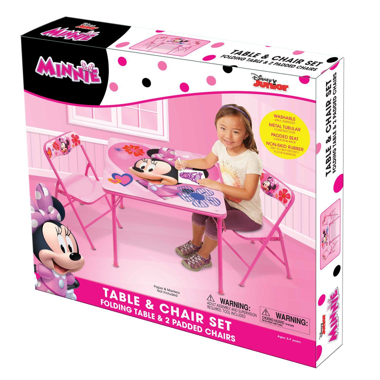 Disney\u0027s Minnie Mouse Activity Table \u0026 Chairs Set  sc 1 st  Kohl\u0027s & Disney\u0027s Minnie Mouse Activity Table \u0026 Chairs Set | Kohls