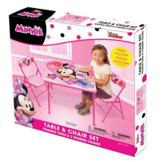 Disney's Minnie Mouse Activity Table & Chairs Set