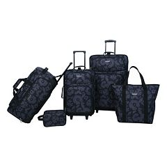 Prodigy Floral 5 pc Luggage Set
