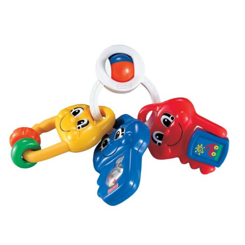 Fisher-Price Brilliant Basics Musical Activity Keys