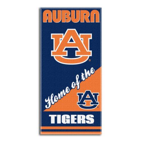Auburn Tigers Beach Towel by Northwest