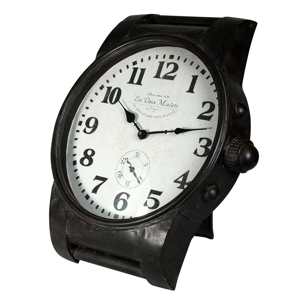 Oversized Wrist Watch Wall Clock. Wrist Watch Wall Clock