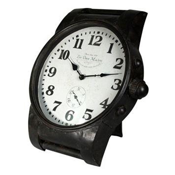 Oversized Wrist Watch Wall Clock