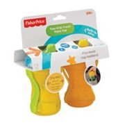 Fisher-Price 2 pkTwo-Grip Travel Sippy Cups