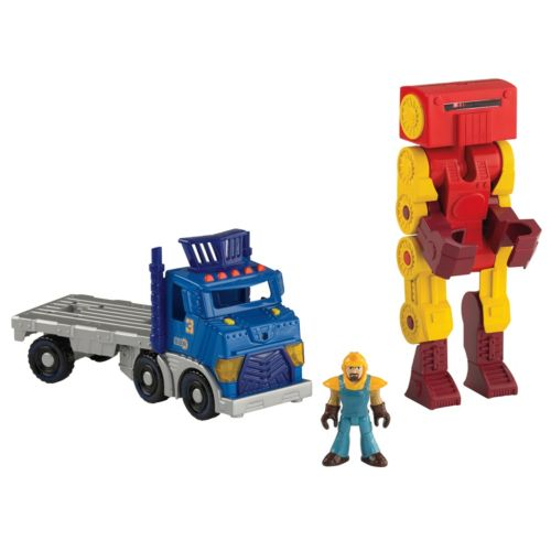 Fisher-Price Imaginext City Big Rig and Robot Set