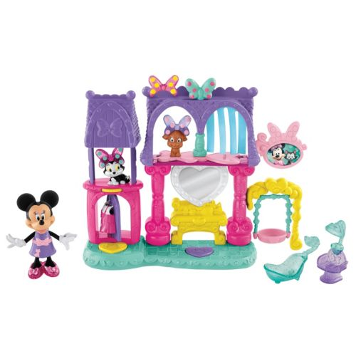 Disney Mickey Mouse and Friends Minnie Mouse Pets Salon by Fisher-Price