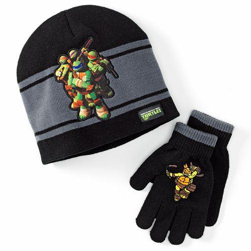 bb9bfc5d7 Teenage Mutant Ninja Turtles Hat & Glove Set - Boys