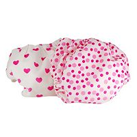 Pam Grace Creations 2 pkCloth Diapers - Pink