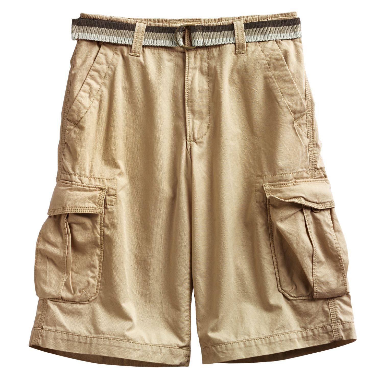 Boys Urban Pipeline Messenger Cargo Twill Shorts