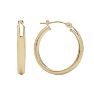 Everlasting Gold 14k Gold Hoop Earrings