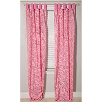 Pam Grace Creations Simply Cheetah Window Curtains