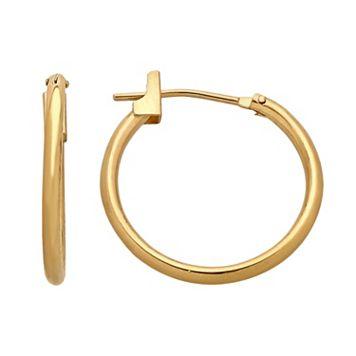 Everlasting Gold 14k Gold Hoop Earrings