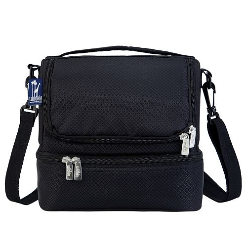 Wildkin Rip-Stop Double Decker Lunch Bag Set - Kids