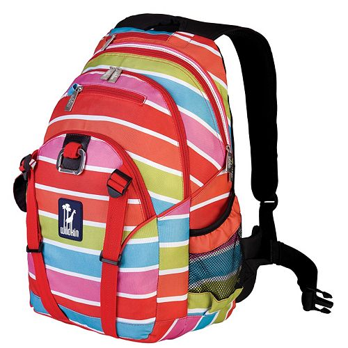 Wildkin Bright Stripes Serious Backpack - Kids