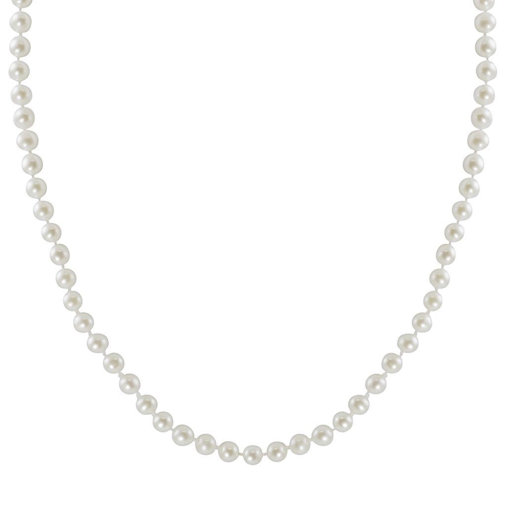 10k Gold Freshwater Cultured Pearl Necklace - 16
