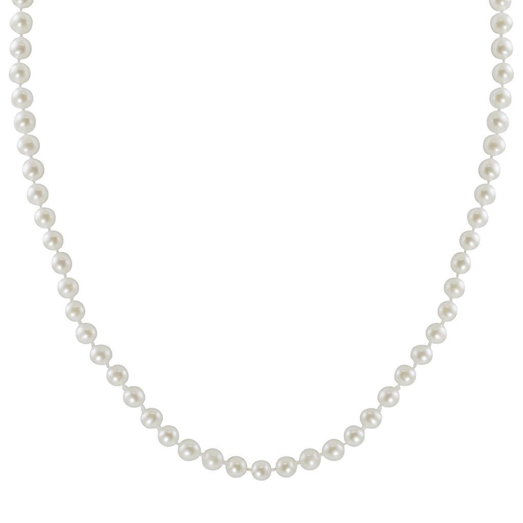 10k Gold Freshwater Cultured Pearl Necklace - 18
