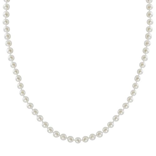 10k Gold Freshwater Cultured Pearl Necklace - 23""