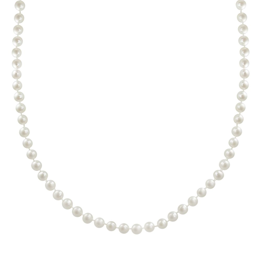 10k Gold Freshwater Cultured Pearl Necklace - 30""