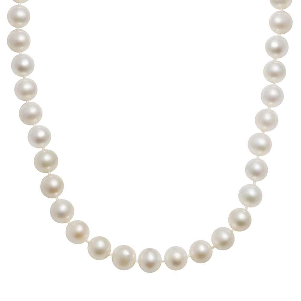 10k Gold Freshwater Cultured Pearl Necklace - 16""