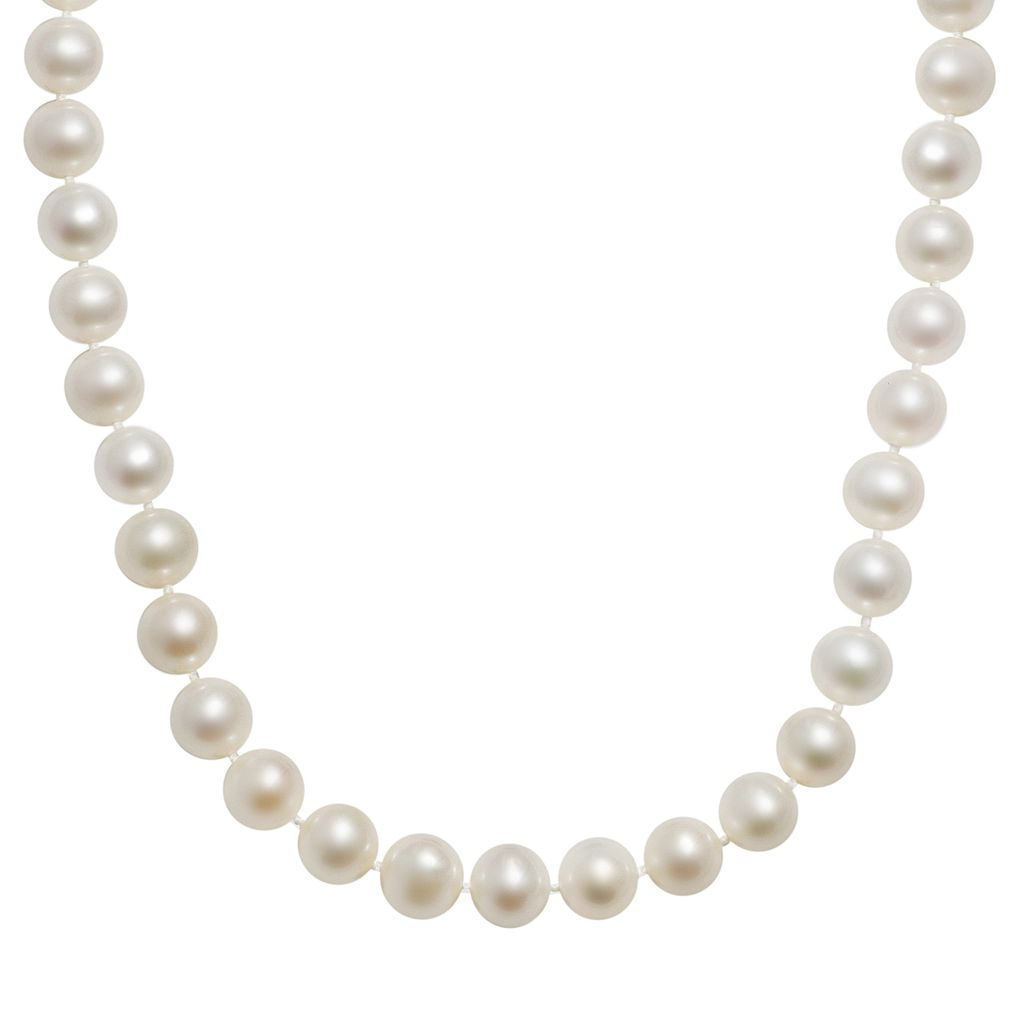 10k Gold Freshwater Cultured Pearl Necklace - 23