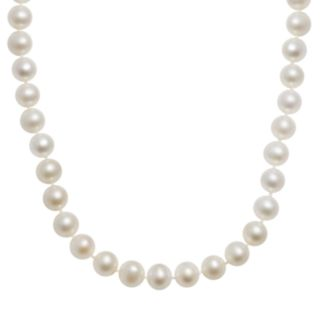 10k Gold Freshwater Cultured Pearl Necklace - 30''