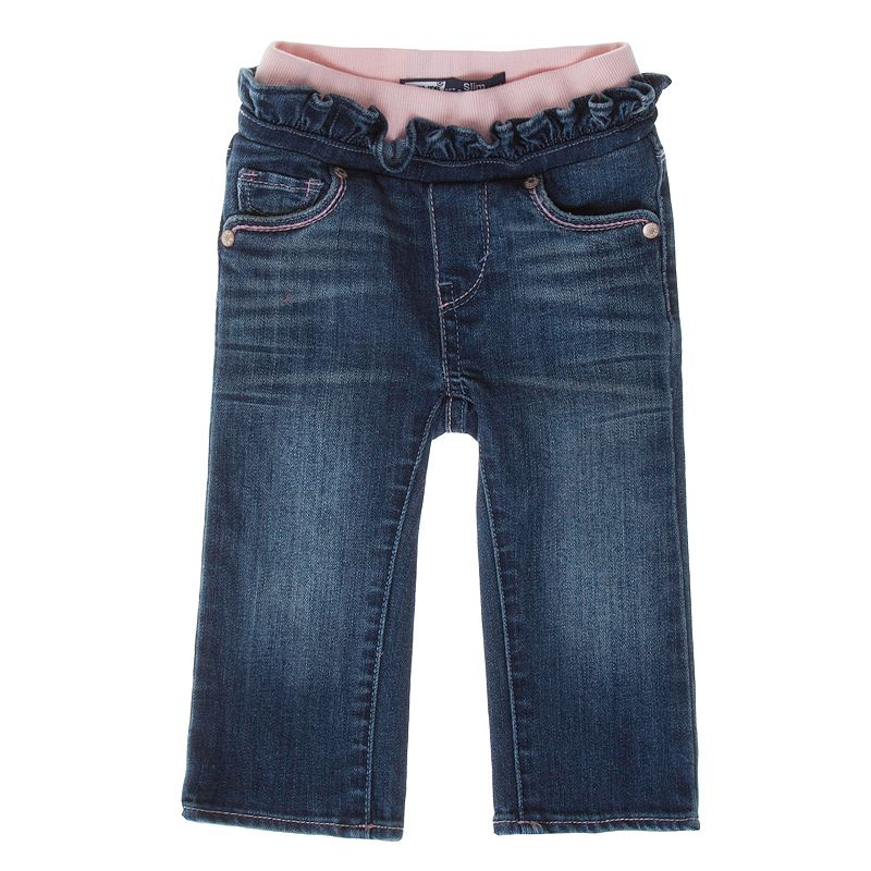 Levi's Straight Leg Jeans - Baby Size 24 MONTHS (Blue)