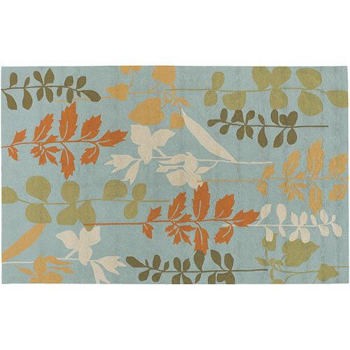 Artisan Weaver Woodway Floral Indoor Outdoor Rug - 2' x 3'