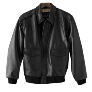 Men's Excelled A-2 Leather Bomber Jacket