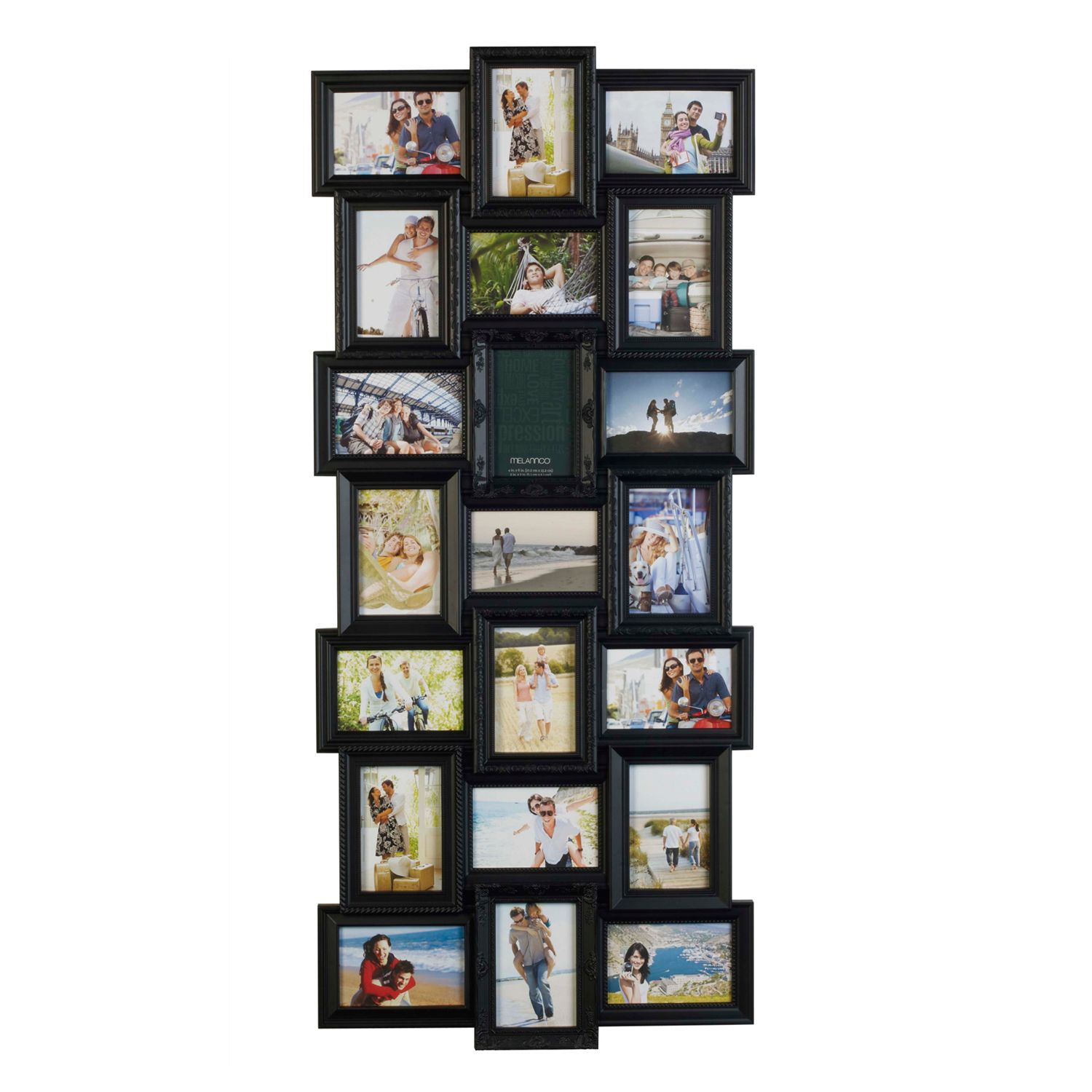 Colorful Melannco Collage Frame Pattern - Picture Frame Ideas ...