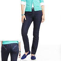 Gloria Vanderbilt Lina Embellished Curvy Fit Slim Jeans - Women's
