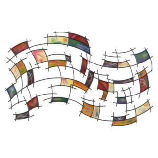 Abstract Squares Wall Decor