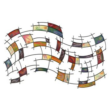 Abstract Squares Wall Decor