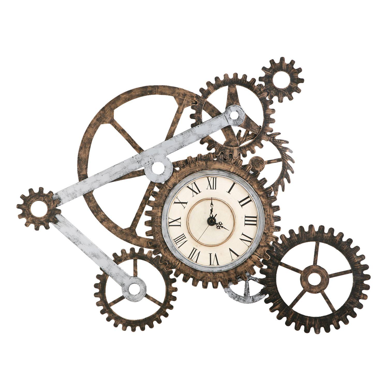 Industrial Gear Wall Clock Kohls