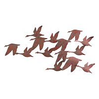 Beckett Flock of Geese Metal Wall Decor