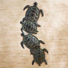 Lagoon Turtle Wall Decor