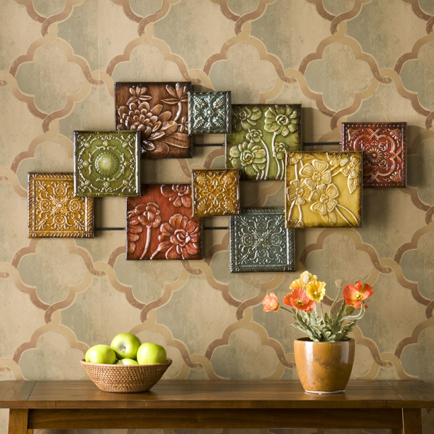 marvelous Square Metal Wall Decor Part - 18: Kohlu0027s