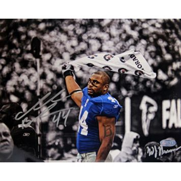 Steiner Sports Ahmad Bradshaw Waving Towel 8'' x 10'' Signed Photo